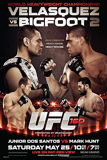 UFC 160: Velasquez vs. Bigfoot 2 1