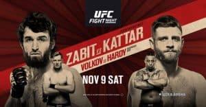 UFC Fight Night: Magomedsharipov vs. Kattar 2