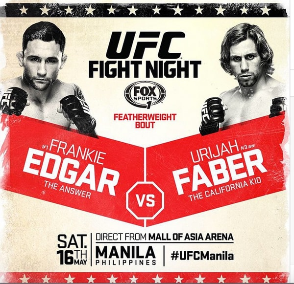 UFC Fight Night: Edgar vs. Faber 1