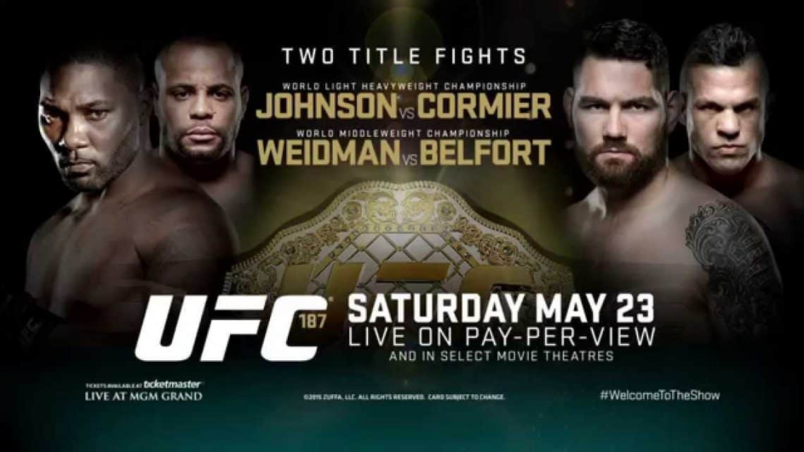 UFC 187: Johnson vs. Cormier 1
