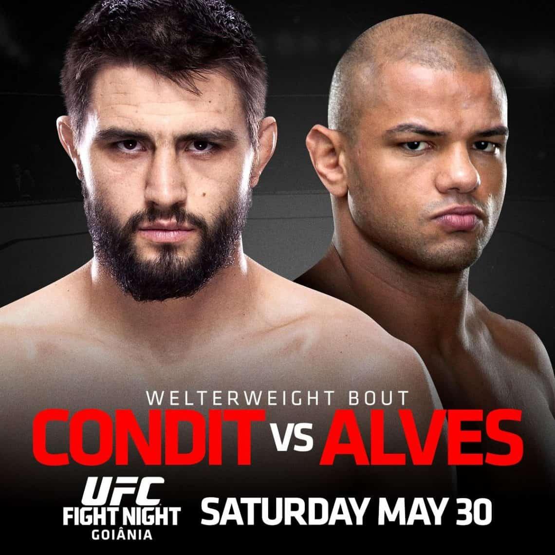 UFC Fight Night: Condit vs. Alves 1