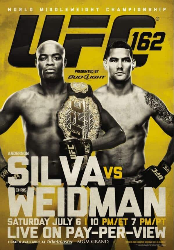 UFC 162: Silva vs. Weidman 1