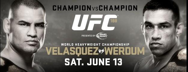 UFC 188: Velasquez vs. Werdum 1