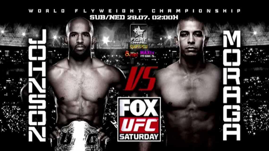 UFC on Fox: Johnson vs. Moraga 1