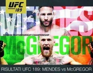 UFC 189: Mendes vs. McGregor 2