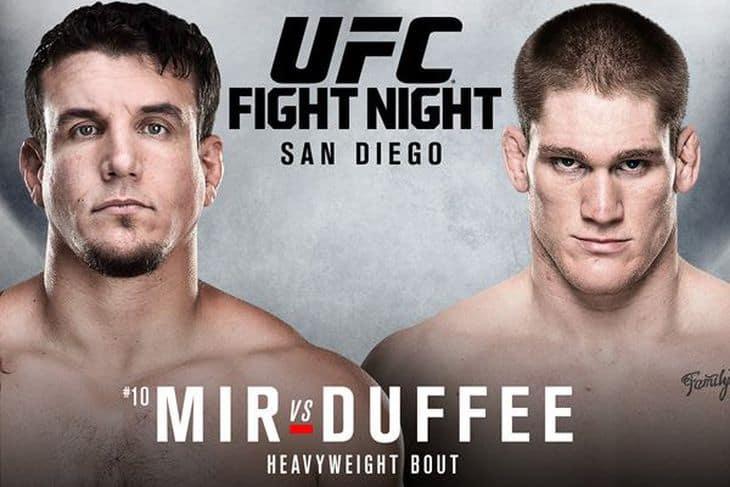 UFC Fight Night: Mir vs. Duffee 1