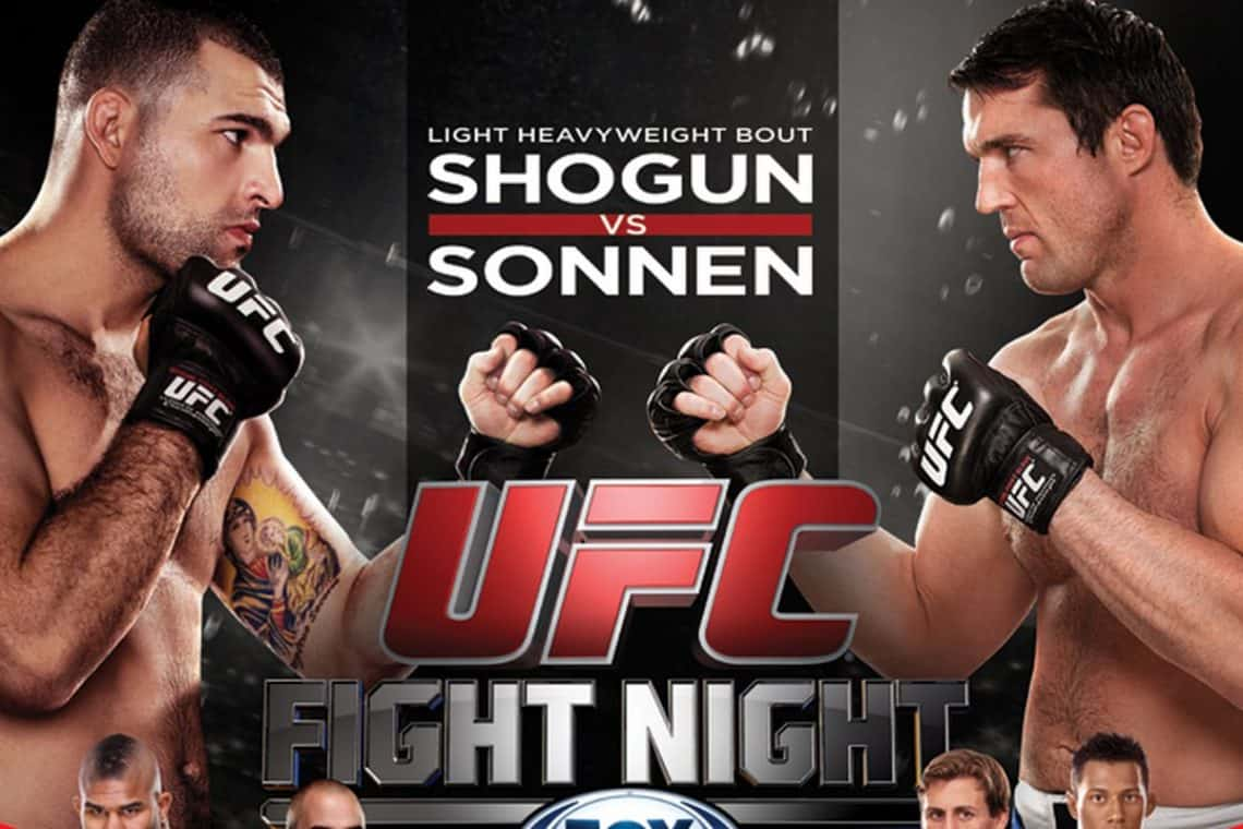 UFC Fight Night: Shogun vs. Sonnen 1