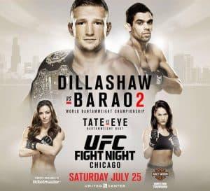 UFC on Fox: Dillashaw vs. Barão 2 2