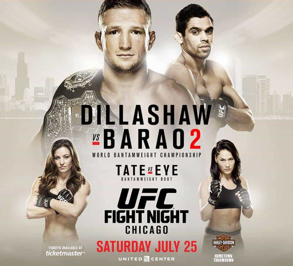 UFC on Fox: Dillashaw vs. Barão 2 1