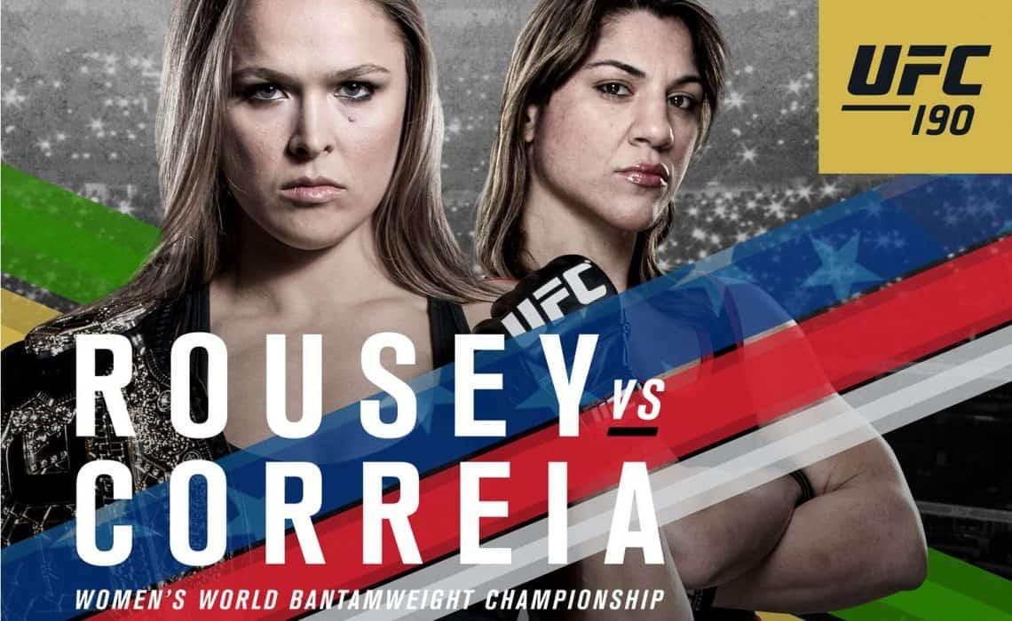 UFC 190: Rousey vs. Correia 1