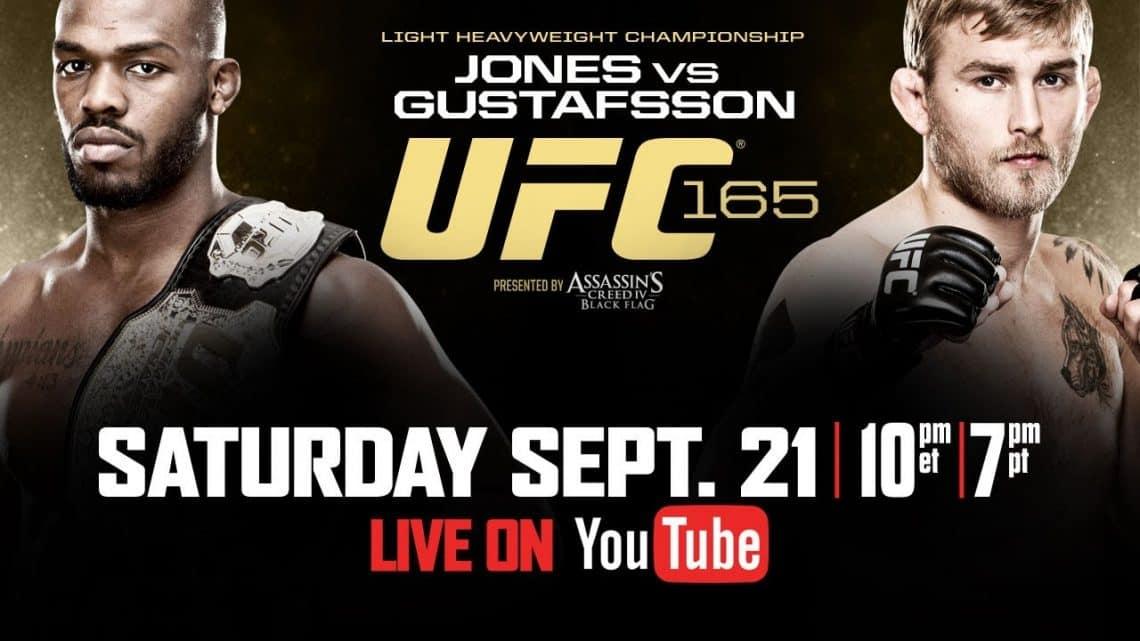 UFC 165: Jones vs. Gustafsson 1