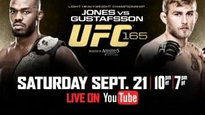 UFC 165: Jones vs. Gustafsson 2