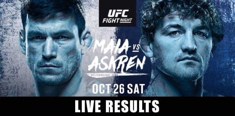 UFC Fight Night: Maia vs. Shields 1