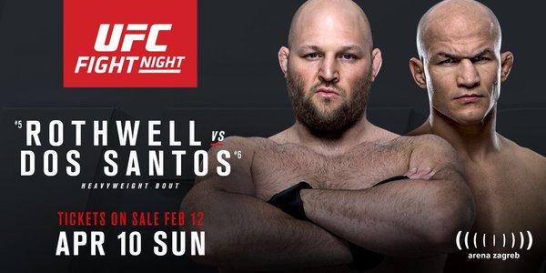 UFC Fight Night: Rothwell vs. dos Santos 1