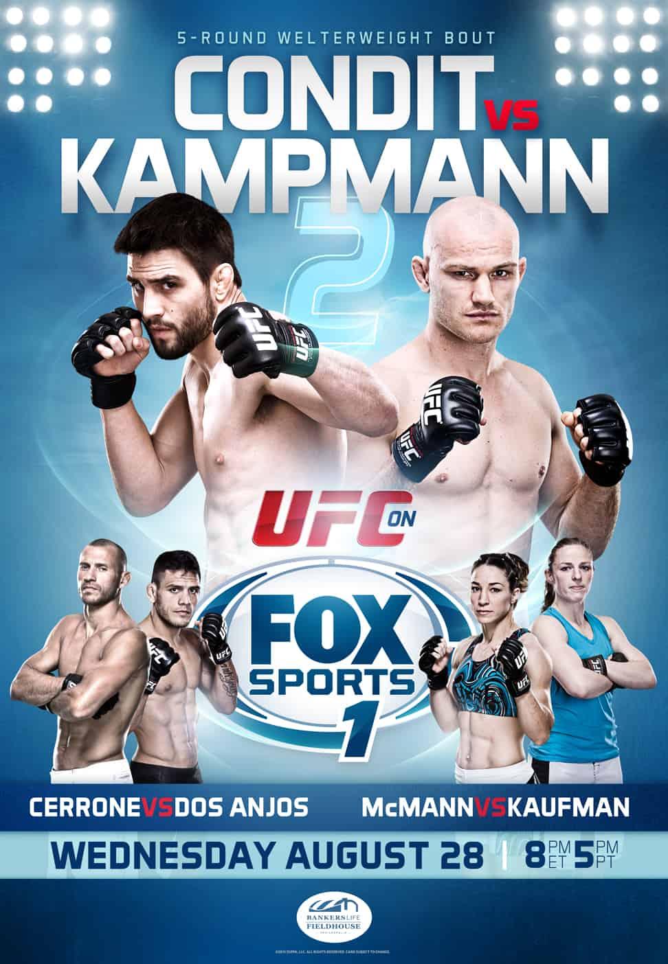 UFC Fight Night: Condit vs. Kampmann 2 1