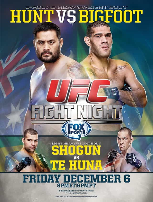 UFC Fight Night: Hunt vs. Bigfoot 1