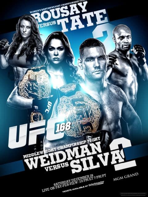 UFC 168: Weidman vs. Silva 2 1