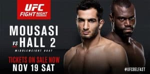 UFC Fight Night: Mousasi vs. Hall 2 2