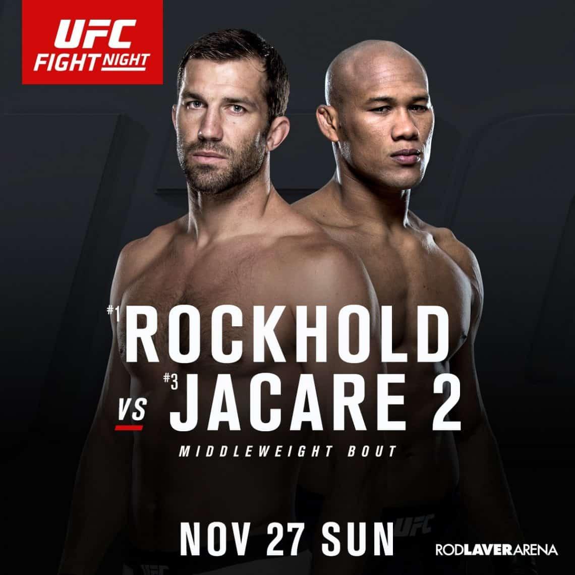 UFC Fight Night: Whittaker vs. Brunson 1