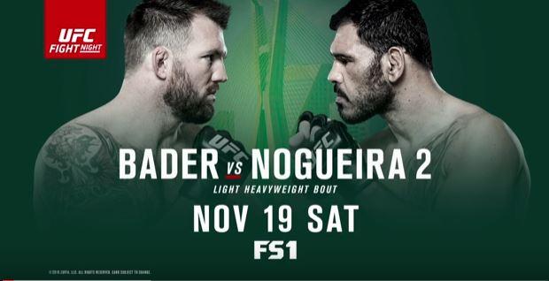UFC Fight Night: Bader vs. Nogueira 2 1