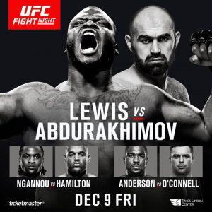 UFC Fight Night: Lewis vs. Abdurakhimov 2