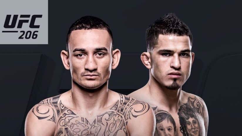 UFC 206: Holloway vs. Pettis 1