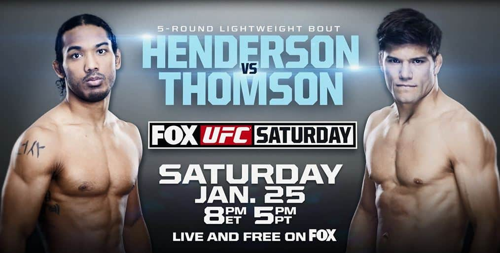 UFC on Fox: Henderson vs. Thomson 1