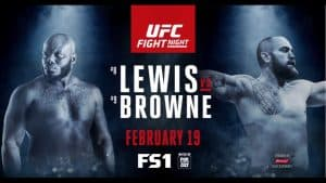 UFC Fight Night: Lewis vs. Browne 2