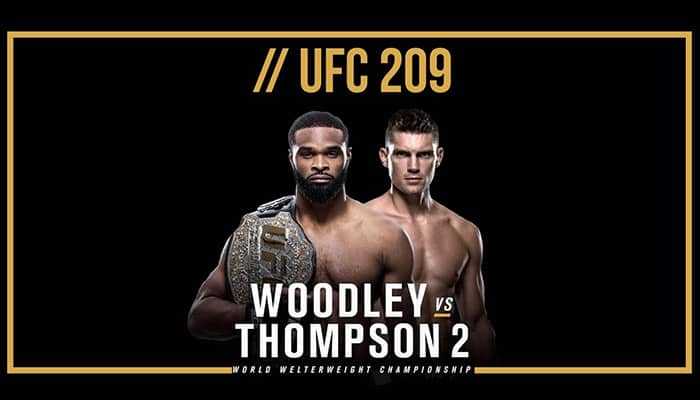UFC 209: Woodley vs. Thompson 2 1