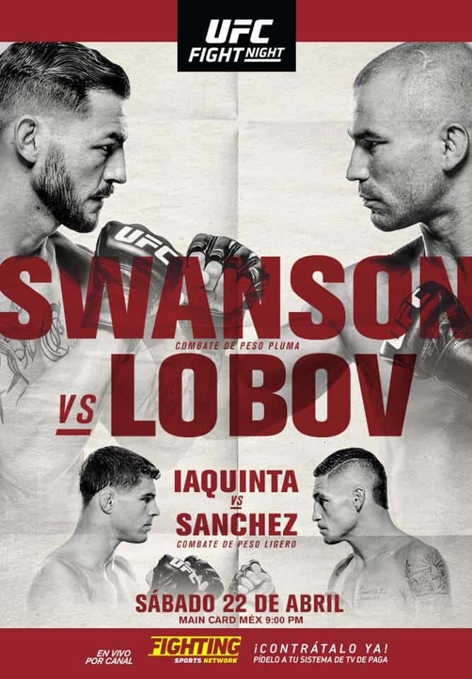 UFC Fight Night: Swanson vs. Lobov 1