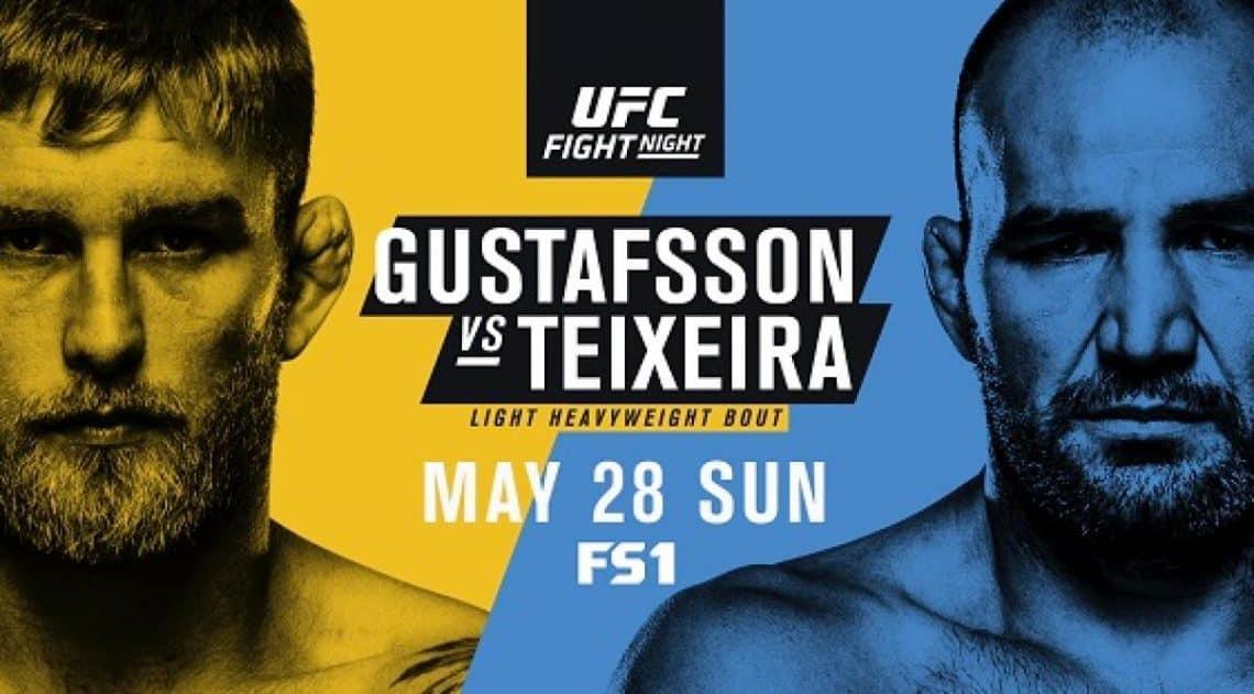 UFC Fight Night: Gustafsson vs. Teixeira 1