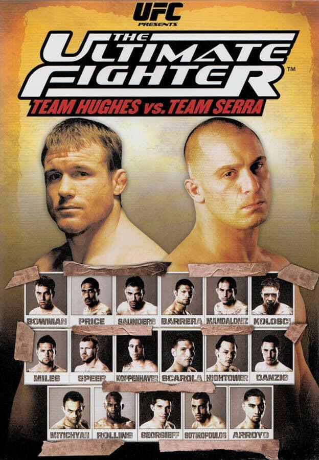 The Ultimate Fighter: Team Hughes vs. Team Serra Finale 1