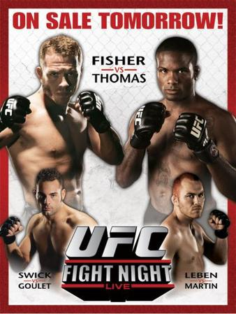 UFC Fight Night: Thomas vs. Florian 1