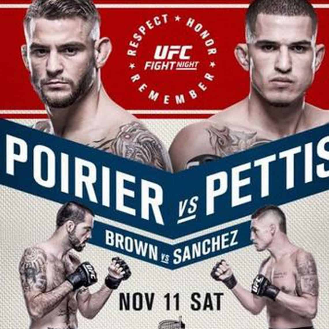UFC Fight Night: Poirier vs. Pettis 1