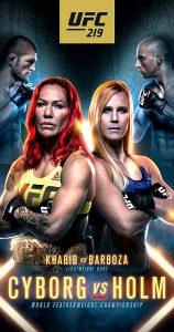 UFC 219: Cyborg vs. Holm 2