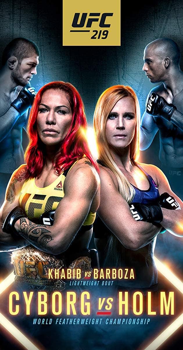 UFC 219: Cyborg vs. Holm 1