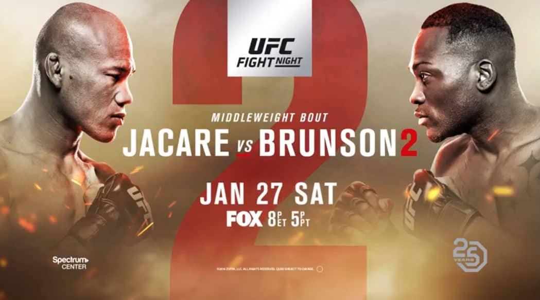 UFC on Fox: Jacaré vs. Brunson 2 1
