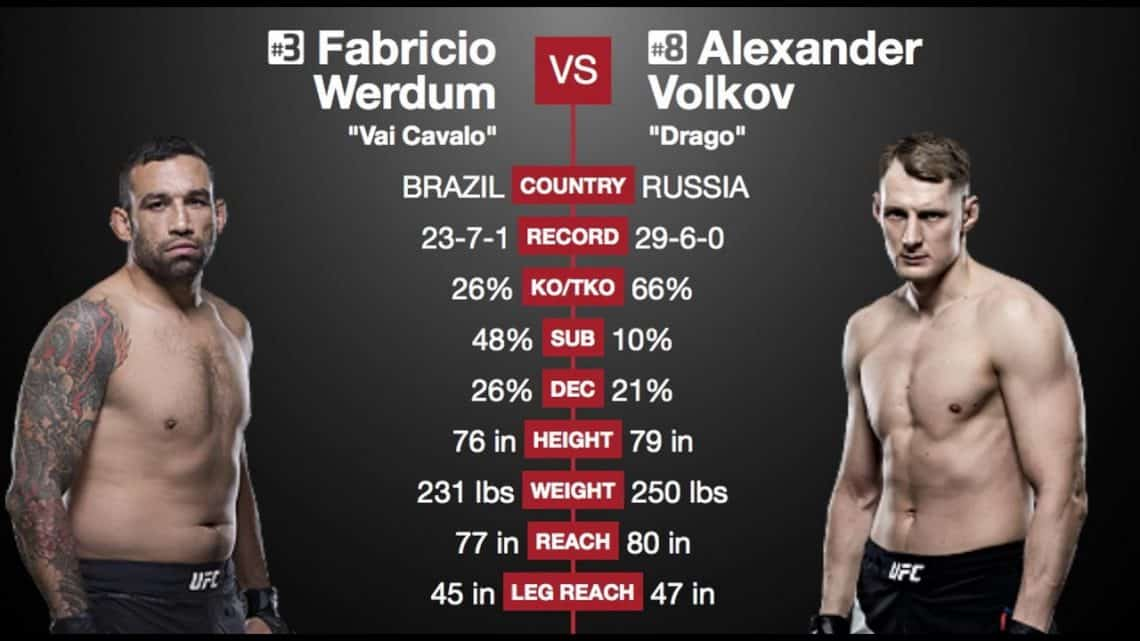 UFC Fight Night: Werdum vs. Volkov 1