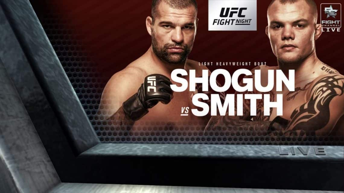 UFC Fight Night: Shogun vs. Smith 1