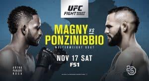 UFC Fight Night: Magny vs. Ponzinibbio 2