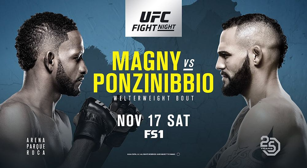 UFC Fight Night: Magny vs. Ponzinibbio 1