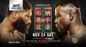 UFC Fight Night: Blaydes vs. Ngannou 2 2