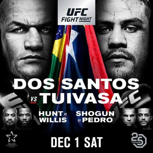 UFC Fight Night: dos Santos vs. Tuivasa 1