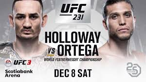 UFC 231: Holloway vs. Ortega 1