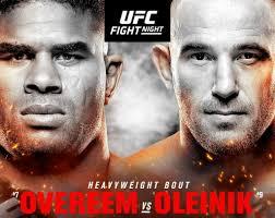UFC Fight Night: Overeem vs. Oleinik 1