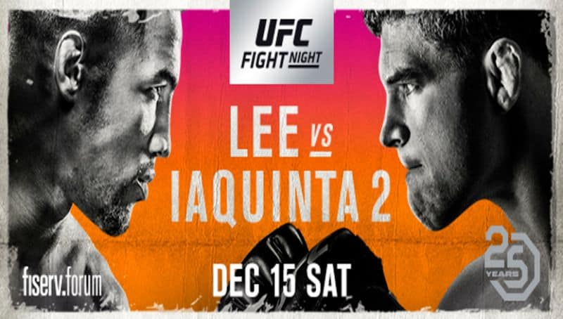 UFC on Fox: Lee vs. Iaquinta 2 1