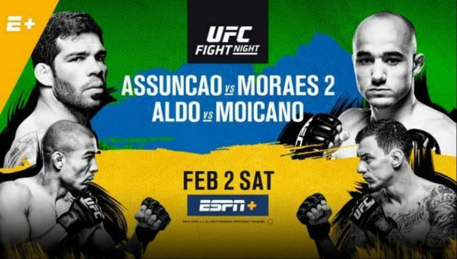 UFC Fight Night: Assunção vs. Moraes 2 1
