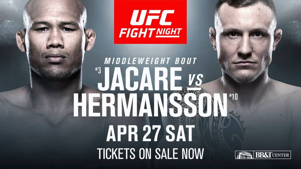UFC Fight Night: Jacaré vs. Hermansson 1