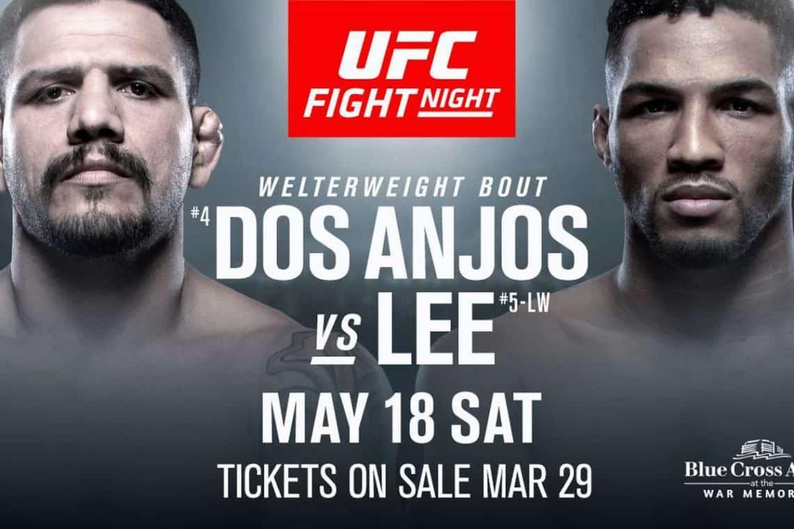 UFC Fight Night: dos Anjos vs. Lee 1