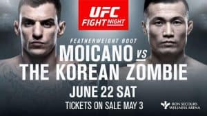UFC Fight Night: Moicano vs. Korean Zombie 2